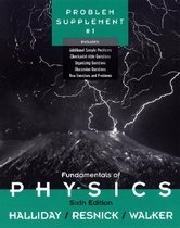 "<font title=""Fundamentals of Physics, , Problem Supplement No. 1 (Paperback/ 6th Ed.) "">Fundamentals of Physics, , Problem Suppl...</font>"