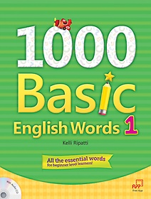 """<font title=""""1000 Basic English Words 1 (Student Book+Audio CD)"""">1000 Basic English Words 1 (Student Book...</font>"""