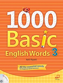"""<font title=""""1000 Basic English Words 3 (Student Book+Audio CD)"""">1000 Basic English Words 3 (Student Book...</font>"""