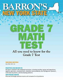 "<font title=""Grade 7 New York State Math Test (Paperback / 2nd Ed.)"">Grade 7 New York State Math Test (Paperb...</font>"