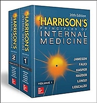 Harrison's Principles of Internal Medicine Vol.1 & Vol.2 (Hardcover/ 20th)