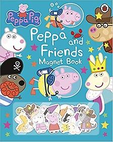 페파 피그 : 페파와 친구들 자석놀이책 Peppa Pig: Peppa and Friends Magnet Book (Hardcover)