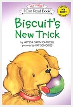 Biscuit's New Trick Set - I Can Read, My First (Paperback+CD:1)