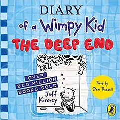 "<font title=""Diary of a Wimpy Kid #15 : The Deep End (Audio CD/ Unabridged Edition)"">Diary of a Wimpy Kid #15 : The Deep End ...</font>"