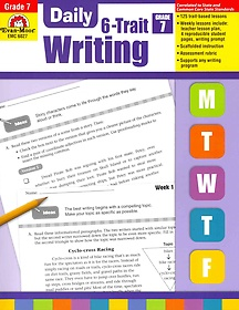 """<font title=""""Daily 6-Trait Writing, Grade 7 (Paperback)"""">Daily 6-Trait Writing, Grade 7 (Paperbac...</font>"""