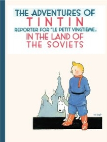"""<font title=""""The Adventures of TinTin in the Land of the Soviets (Paperback) """">The Adventures of TinTin in the Land of ...</font>"""