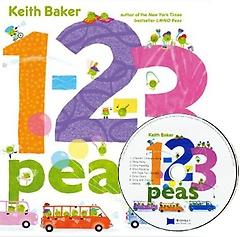 [노부영] 1-2-3 Peas (Hardcover + CD)