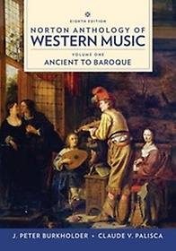 "<font title=""Norton Anthology of Western Music, Vol. 1, 8/e (Paperback)"">Norton Anthology of Western Music, Vol. ...</font>"