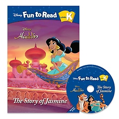 """<font title=""""Disney Fun to Read K-15 / The Story of Jasmine (Paperback+CD)"""">Disney Fun to Read K-15 / The Story of J...</font>"""
