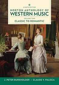 "<font title=""Norton Anthology of Western Music, Vol. 2, 8/e (Paperback)"">Norton Anthology of Western Music, Vol. ...</font>"