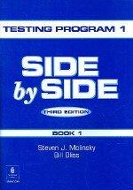 """<font title=""""SIDE BY SIDE Testing Program 1 (3rd Edition/ Paperback)"""">SIDE BY SIDE Testing Program 1 (3rd Edit...</font>"""
