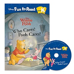 """<font title=""""Disney Fun to Read K-16 / Who Cares? Pooh Cares! (Paperback+CD)"""">Disney Fun to Read K-16 / Who Cares? Poo...</font>"""