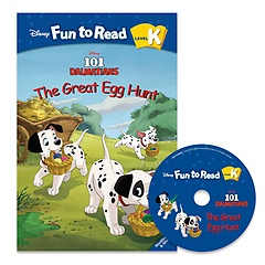 """<font title=""""Disney Fun to Read K-17 / The Great Egg Hunt (Paperback+CD)"""">Disney Fun to Read K-17 / The Great Egg ...</font>"""