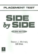 """<font title=""""SIDE BY SIDE Placement Test (3rd Edition/ Paperback)"""">SIDE BY SIDE Placement Test (3rd Edition...</font>"""