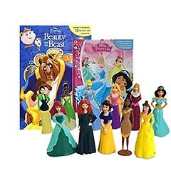 피규어북 Best 2종 A세트 : Disney Beauty and the Beast + Disney Princess (Boardbook:2+피규어 세트)