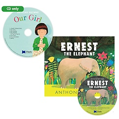 """<font title=""""베오영 Ernest the Elephant(원서&CD)+ 노부영 Our Girl CD"""">베오영 Ernest the Elephant(원서&CD)+ 노...</font>"""