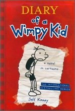 Diary of a Wimpy Kid #1: A Novel in Cartoons (Paperback/ International Edition)