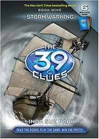 """<font title=""""The 39 Clues #9: Storm Warning (Hardcover)"""">The 39 Clues #9: Storm Warning (Hardcove...</font>"""