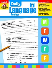 """<font title=""""Daily Language Review, Grade 8 (Paperback)"""">Daily Language Review, Grade 8 (Paperbac...</font>"""