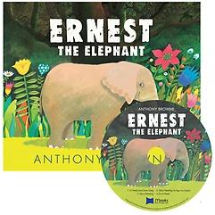 "<font title=""베오영 Ernest the Elephant (Hardcover + CD)"">베오영 Ernest the Elephant (Hardcover + ...</font>"