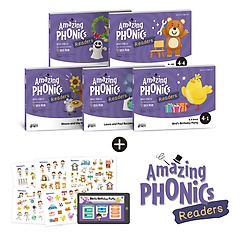 "<font title=""Amazing Phonics Readers Set 4 어메이징 파닉스 리더스 세트 4"">Amazing Phonics Readers Set 4 어메이징 ...</font>"