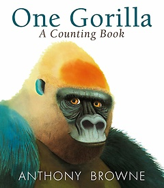 """<font title=""""One Gorilla : A Counting Book (Paperback)"""">One Gorilla : A Counting Book (Paperback...</font>"""