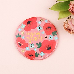그레이스벨 플라워 손거울 5 - 핑크꽃