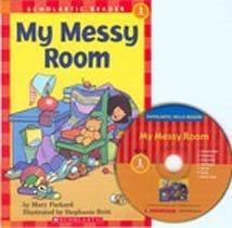 My Messy Room - Scholastic Hello Reader CD Set 1-10 (Paperback+Audio CD)