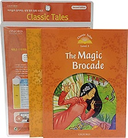 """<font title=""""Classic Tales Level 5-4 set : The Magic Brocade (Book + Multi-ROM + Activity Book / 2nd Ed.)"""">Classic Tales Level 5-4 set : The Magic ...</font>"""