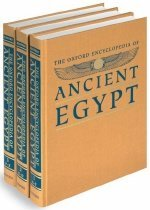 The Oxford Encyclopedia of Ancient Egypt: 3 Volume Set (Hardcover)