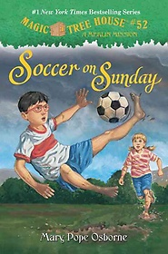 "<font title=""Magic Tree House #52: Soccer on Sunday (Hardcover)"">Magic Tree House #52: Soccer on Sunday (...</font>"