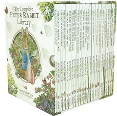 """<font title=""""The Complete Peter Rabbit Library 피터래빗 23종 하드커버 세트 (책23권)"""">The Complete Peter Rabbit Library 피터래...</font>"""