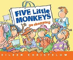 "<font title=""Five Little Monkeys Go Shopping (Paperback)"">Five Little Monkeys Go Shopping (Paperba...</font>"