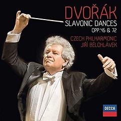 드보르작: 슬라브 춤곡 - 체코 필하모닉 오케스트라, 이르지 벨로흘라베크