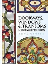 """<font title=""""Doorways, Windows & Transoms Stained Glass Pattern Book (Paperback) """">Doorways, Windows & Transoms Stained Gla...</font>"""