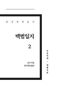 백범일지 2(큰글씨책)