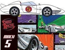 Mach 5 with Toy (Hardcover)