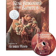 [��ο�]King Bidgood's in the Bathtub (Paperback+ CD)