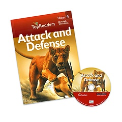 "<font title=""Top Readers 4-1 : Attack and Defense (Student Book + CD)"">Top Readers 4-1 : Attack and Defense (St...</font>"