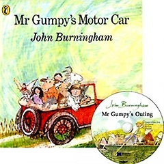 [��ο�]Mr Gumpy's Motor Car (Paperback+CD)