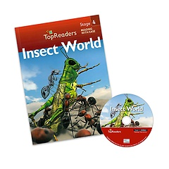 "<font title=""Top Readers 4-2 : Insect World (Student Book + CD)"">Top Readers 4-2 : Insect World (Student ...</font>"