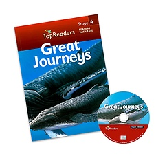 "<font title=""Top Readers 4-3 : Great Journeys (Student Book + CD)"">Top Readers 4-3 : Great Journeys (Studen...</font>"