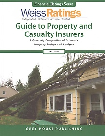 "<font title=""Weiss Ratings Guide to Property and Casualty Insurers, Fall 2017 (Paperback)"">Weiss Ratings Guide to Property and Casu...</font>"