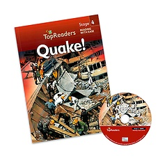 "<font title=""Top Readers 4-8 : Quake! (Student Book + CD)"">Top Readers 4-8 : Quake! (Student Book +...</font>"
