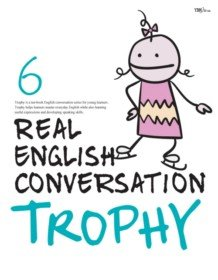 """<font title=""""Real English Conversation Trophy 6 (Paperback + CD:2)"""">Real English Conversation Trophy 6 (Pape...</font>"""