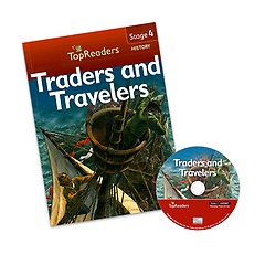 "<font title=""Top Readers 4-15 : Traders and Travelers (Student Book + CD)"">Top Readers 4-15 : Traders and Travelers...</font>"