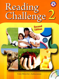 "<font title=""Reading Challenge 2 : Student Book with CD-ROM (Paperback/ 2nd Ed.)"">Reading Challenge 2 : Student Book with ...</font>"