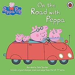 """<font title=""""Peppa Pig: On the Road with Peppa (CD-Audio)"""">Peppa Pig: On the Road with Peppa (CD-Au...</font>"""