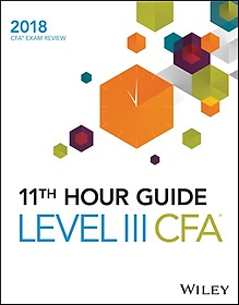 "<font title=""Wiley 11th Hour Guide for 2018, Level III Cfa Exam (Paperback)"">Wiley 11th Hour Guide for 2018, Level II...</font>"