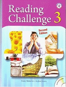 "<font title=""Reading Challenge 3 : Student Book with CD-ROM (Paperback/ 2nd Ed.)"">Reading Challenge 3 : Student Book with ...</font>"